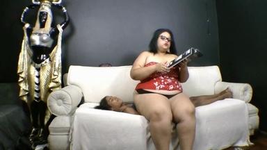 Absolute Heavy Weight Valkiria Fat Colossos And Her Slave Priscilinha