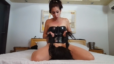 FACE SITTING /  Face Sitting Smother With Pussy And Ass By Angel Prado And Slave Polly