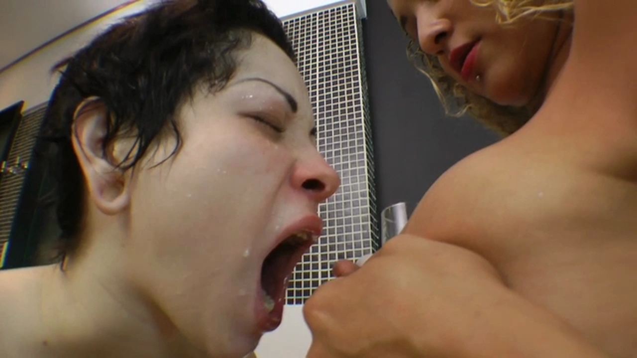 Lesbian Tit Sucking Rough