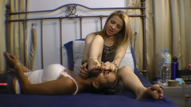Feet Hard Domination By Daniele Block And Slave Gabyzinha