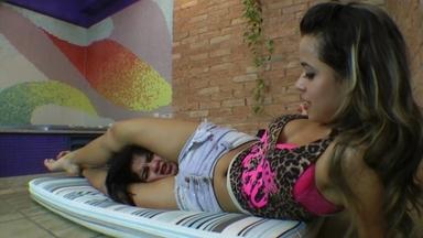 Scissor Cruel Training By Top Model Lola Mello And Slave Fabi