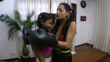 FIGHTING GIRLS /  Boxing And Mixed Fight By Paula Gonsalvez And Slave Priscilinha