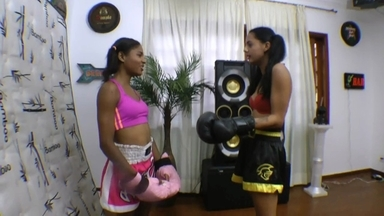 Boxing And Mixed Fight By Paula Gonsalvez And Slave Priscilinha