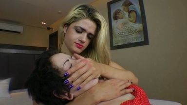 Hand Smother By Giant Britney And Slave Sami