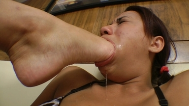 Try To Swallow My Big Perfect Feets Size9.5 Now Vol2 - Tatti Devassa And Vivi