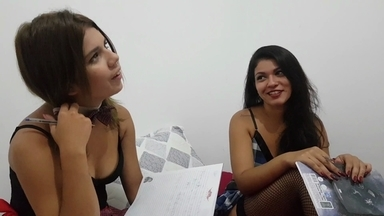 Lick My Ass Strong And Erotical By Two Top Model Students