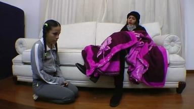 LESBIAN / Ass Licking And Boots Licking Domination - Flavia Greika And Mini Mi