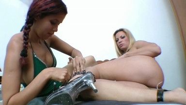 Lick And Feel My Ass By Kelly Dias And Slave Larissa
