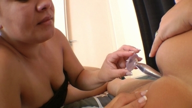 Lick Ass For The First Time By Top Girl Melissa Pitanga And Slave Eliete