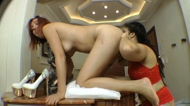 Ass Licking By Larissa Red And Slave Melzinha