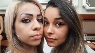 The Queue To Kiss Top Girl Carolina Lima