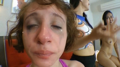 Face Sitting And Fight Submission By Camila Santos- Demy- Jessy Pocahontas- Penelope And Baby