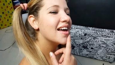 Lick Ass My Little Blonde Girl By Larissa Diel