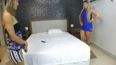LESBIAN / Lesbian Domination Ass Licking By Monique Lopez And Slave Nanny