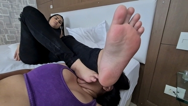 Dangerous Feet Attack- My Top Model Feets Will Destroy You