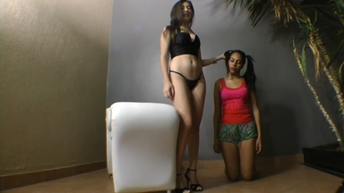 FACE SITTING / Panty Volplane By Pandora Cruel And Slave Flavinha