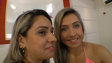 KISSING / Hot Kisses By Top Girl Bianca Totti And Priscila
