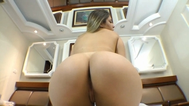 Face Sitting By Big Ass Nina Lins And Slave Gabizinha