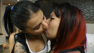Hot Kisses By Alexa Woltule And Her Girl Friend