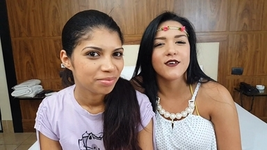 Hot Kisses By Rebeca Santos And Mia