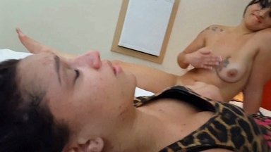 Face Sitting Real Fear By Cris Castelari And Slave Melissa